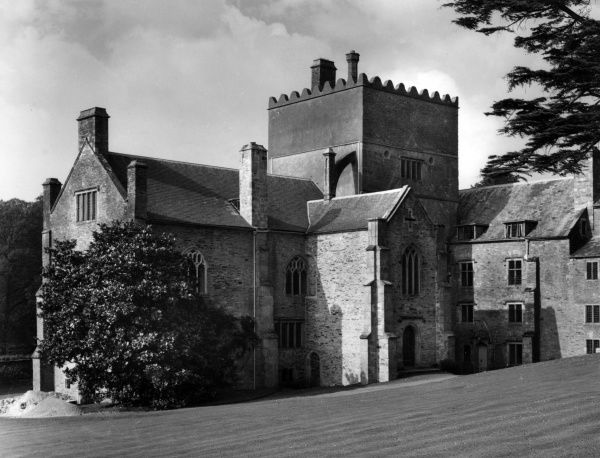 Buckland Abbey, near Yelverton, Devon, founded in 1278 by Amicia, widow of Baldwin de Redvers, Earl of Devon. Date: 13th century