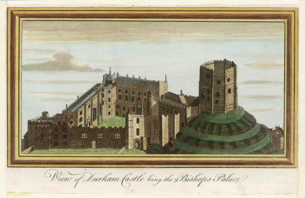 View of Durham Castle, the home of the Bishop of Durham
