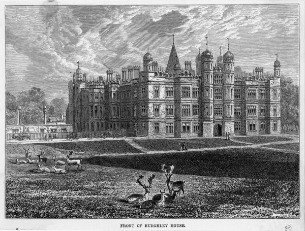 Burghley House, Cambridgeshire, seat of the Cecils