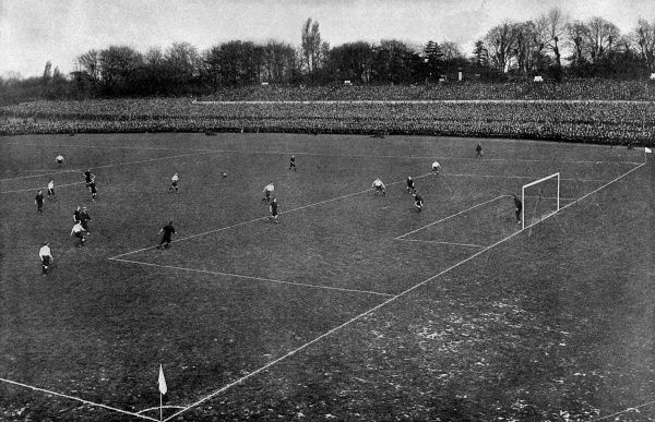 F.A. CUP FINAL BURY 6 DERBY COUNTY 0 (played at Crystal Palace) Date: 1903