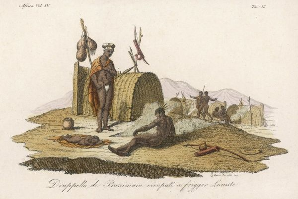 A community of Bushmen of South Africa