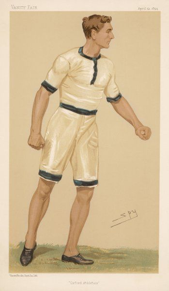 CHARLES BURGESS FRY (1872-1956) British sportsman. Represented England at both cricket and football Described as...probably the most variously gifted Englishman of any age