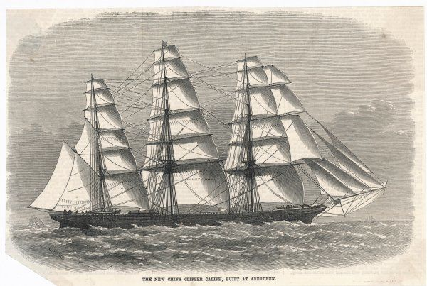 Aberdeen-built clipper for the China tea trade