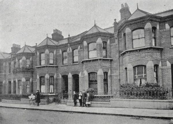 One of the Camberwell Union's scattered homes where small groups of pauper children lived away from the workhouse. Date: 1903