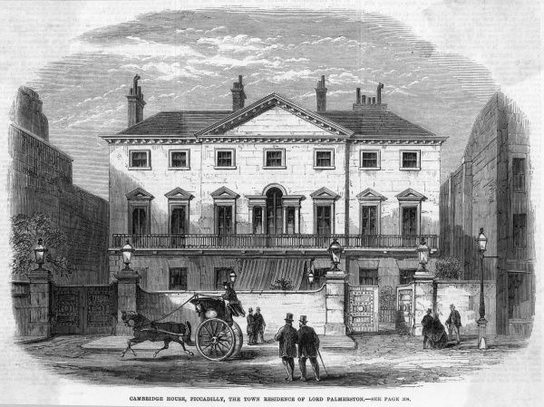 Piccadilly : the town residence of Lord Palmerston