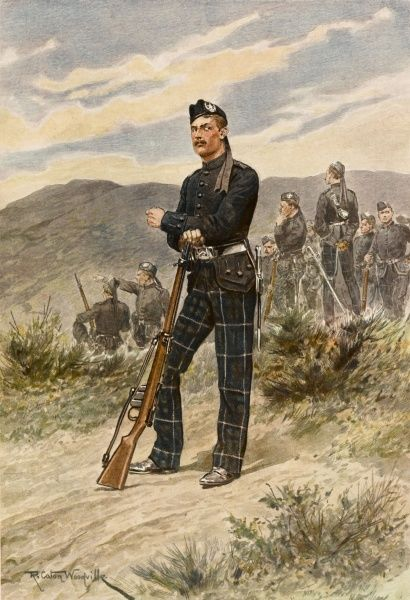 THE CAMERONIANS Scottish Rifles