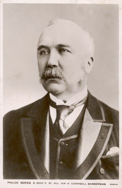 Sir Henry Campbell-Bannerman Liberal politician, prime minister 1905-1908