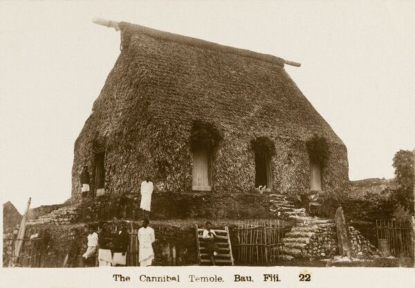 The cannibal Temple (Temole) - Bau, Fiji