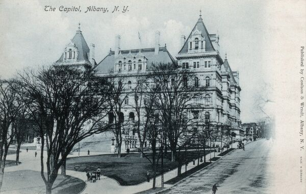 The Capitol - Albany, New York State, USA Date: circa 1908