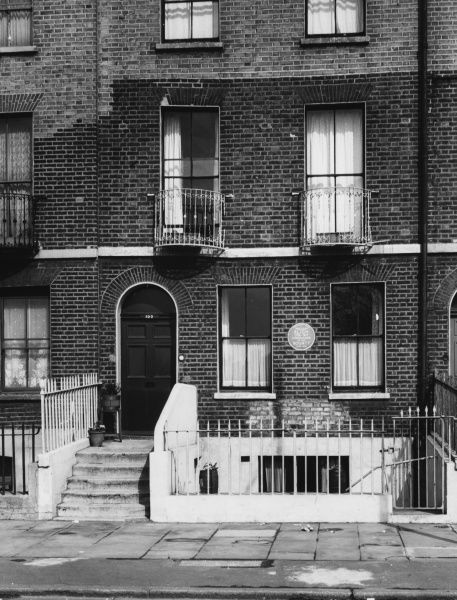 In this house, 100, Lambeth Walk, Lambeth, London, lived Captain William Bligh of 'Mutiny on the Bounty' fame