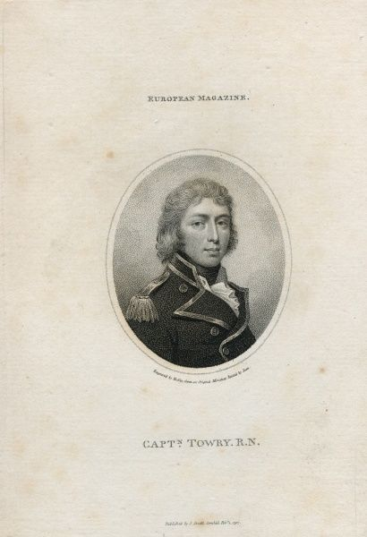 Capt. George Henry Towry (1767-1809) His Majesty's Navy. Date