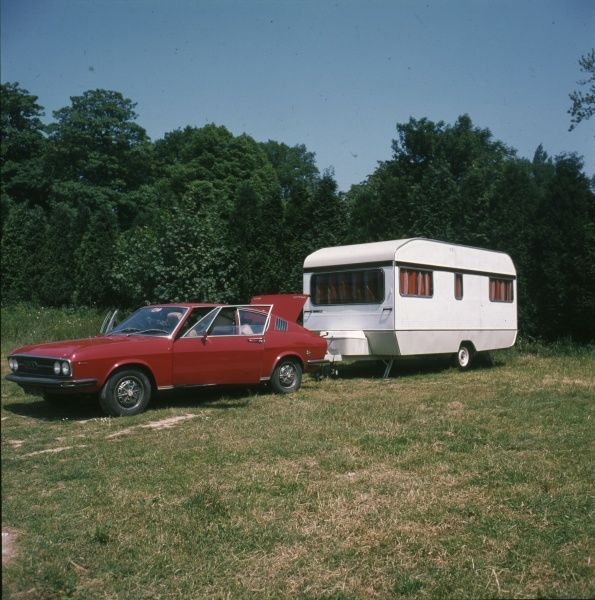 A car and caravan, perfect for that family touring holiday