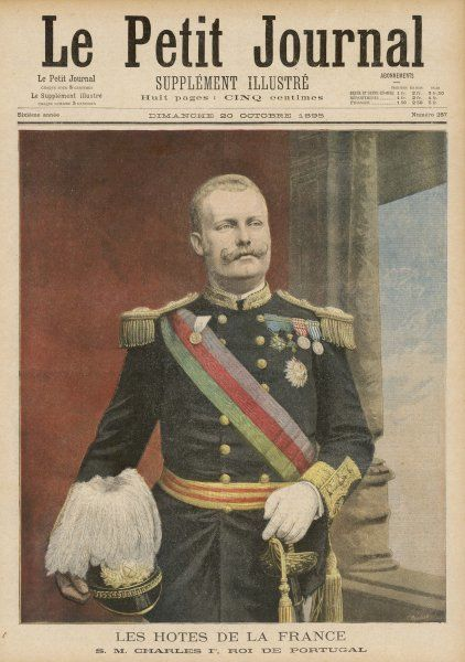 CARLOS I, KING OF PORTUGAL (reigned 1889-1908) In full uniform