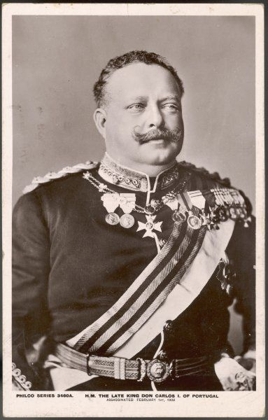CARLOS I, KING OF PORTUGAL Reigned 1889-1908 (he was assassinated)