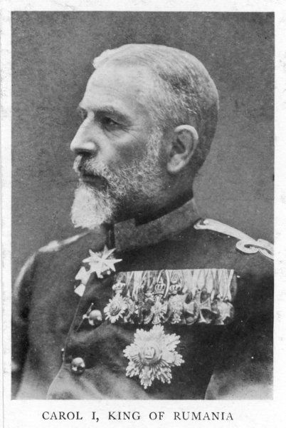 KARL EITEL FRIEDRICH Made first king of independent Romania in 1881, shown here in his military regalia