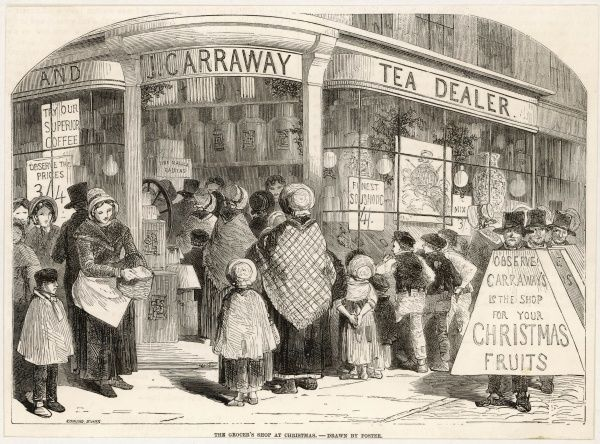 Carraway's Grocery store, London - especially popular at Christmas time