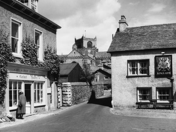 The village of Cartmel Date: 1950s