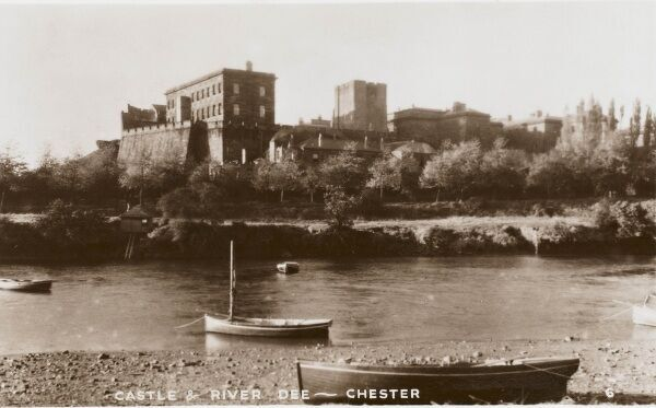 The Castle and the River Dee at Chester