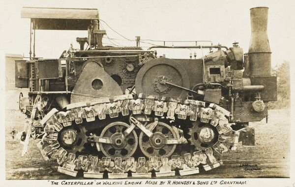 The first and original 'Caterpillar' or 'walking' engine made by R