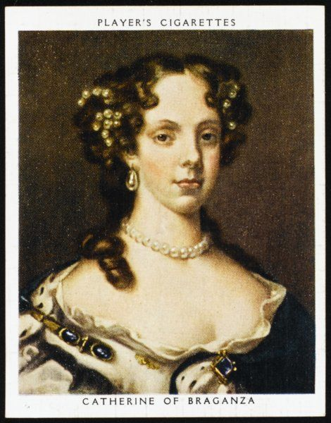 CATHERINE OF BRAGANZA Queen of Charles II