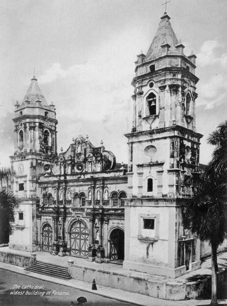 The Cathedral, oldest building in Panama