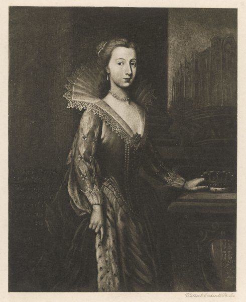 CATHERINE FENTON, countess of CORK, wife of Richard Boyle, first earl ; he was Lord High Treasurer of Ireland