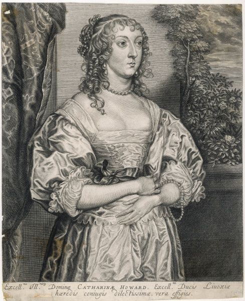 Catherine Howard, countess of NEWBURGH first wife of James Livingstone, 1st earl : Lady D'Aubigny by a previous marriage