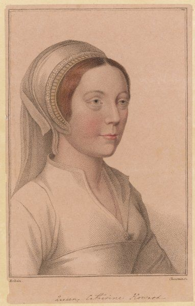 CATHERINE HOWARD 5th Queen of Henry VIII beheaded in 1542