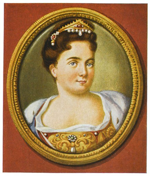 CATHERINE I Empress of Russia (1725-27), second wife of Tsar Peter I