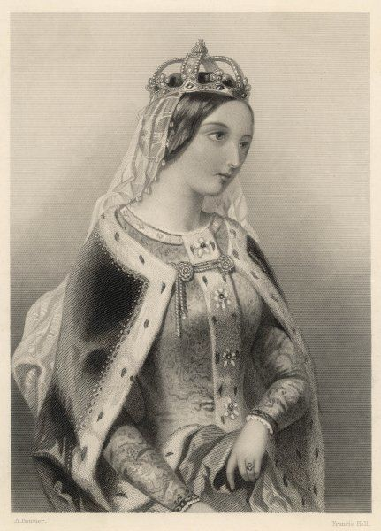 CATHERINE OF VALOIS Queen of Henry V; daughter of Charles VI of France