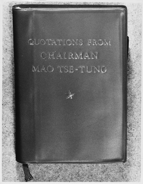 Quotations from Chairman Mao Tse-Tung otherwise known as The Thoughts of Chairman Mao, or The Little Red Book - Bible of Chinese Communism