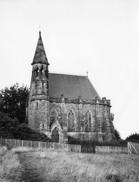 The Chapel of Resurrection, in the grounds of Belfast Castle, Northern Ireland. Date: 1930s photo