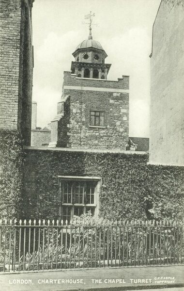 The Chapel Turret, Charterhouse, London Date: circa 1910s