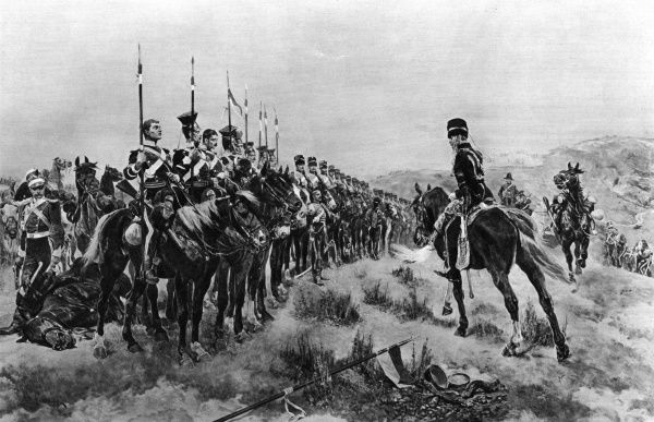 After the Charge of the Light Brigade - 'all that was left of them, left of six hundred' Date: 25 October 1854