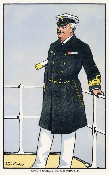 Charles William de la Poer Beresford, 1st Baron Beresford (1846 - 1919), known as Lord Charles Beresford until 1916. British Admiral and Member of Parliament.&quot