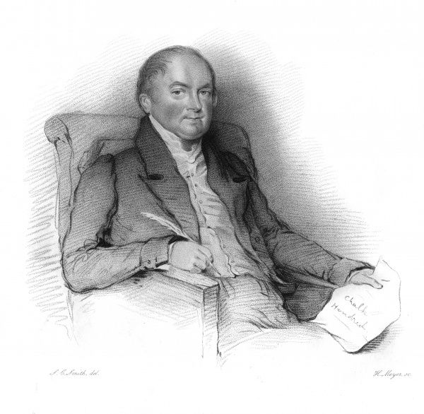 CHARLES BOWLES Antiquary concerned with English regional survivals. Date: CIRCA 1832