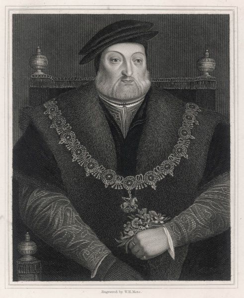 Charles Brandon, duke of SUFFOLK soldier and statesman in the service of Henry VIII