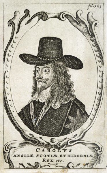 CHARLES I OF ENGLAND King of England, Scotland and Hibernia