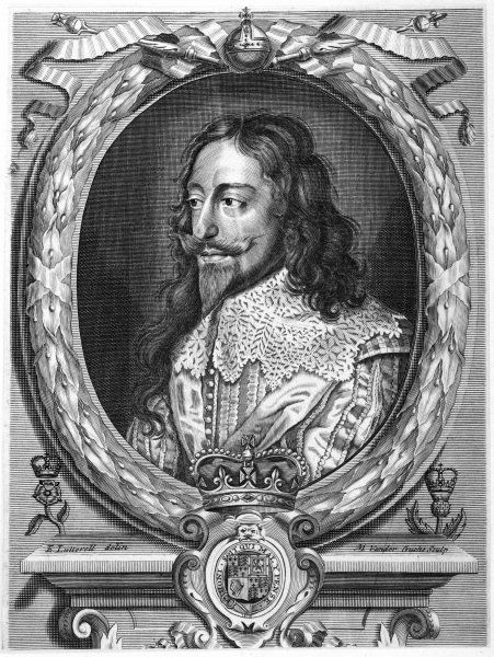 CHARLES I OF ENGLAND in cavalier dress 2 of 2