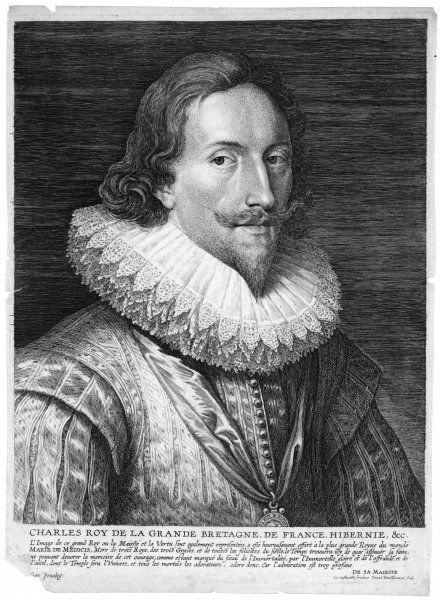 CHARLES I OF ENGLAND The King 'whose majesty and virtue are in equal balance&#39