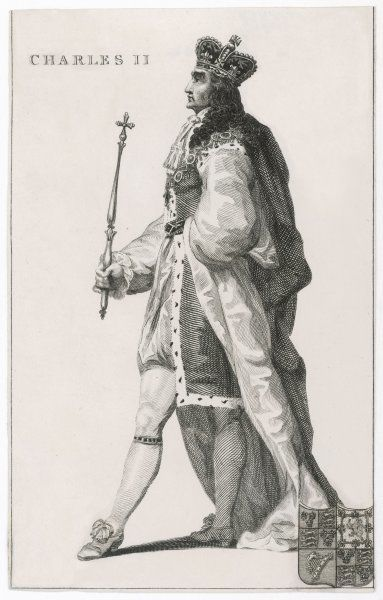 CHARLES II English King, reigned 1660-1685