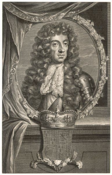 CHARLES II British King 1660 - 1685
