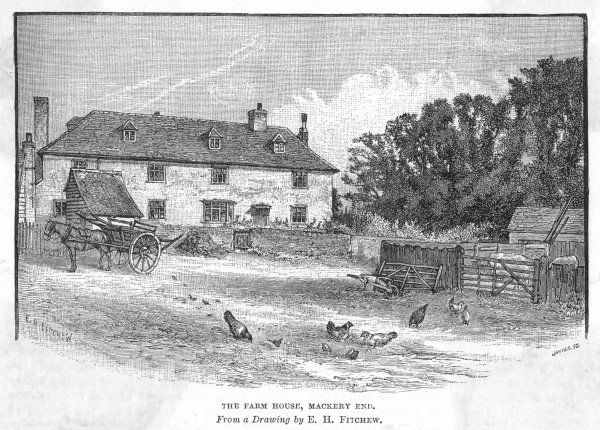 CHARLES LAMB English writer's farmhouse at Mackery End, Hertfordshire
