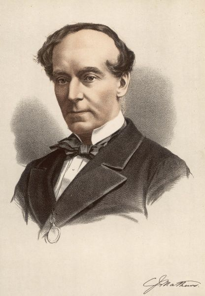 CHARLES JAMES MATHEWS English actor and dramatist