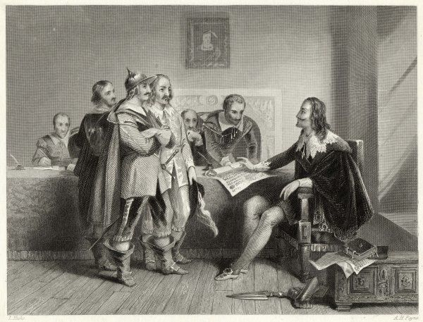 Charles I rejects the Treaty of Oxford