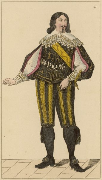 CHARLES DE ROSTAING - French Baron and Governor of the 'Ile-de-France&#39