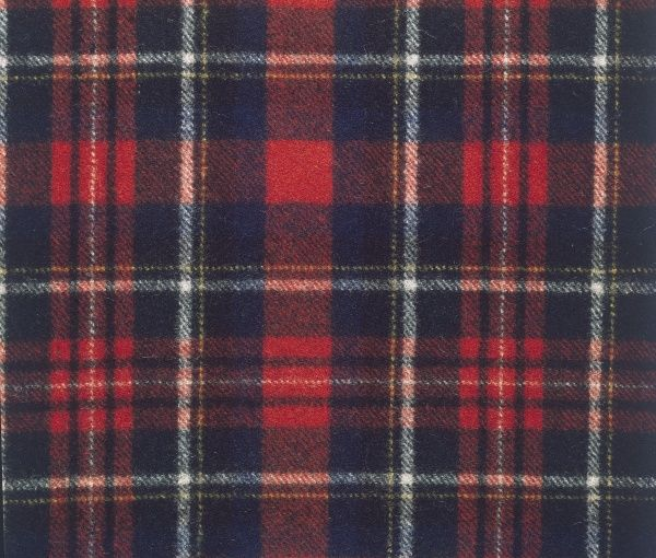 The tartan of Prince Charles Edward Stuart ('Bonnie Prince Charlie') of Scotland. Date: photo taken 1972