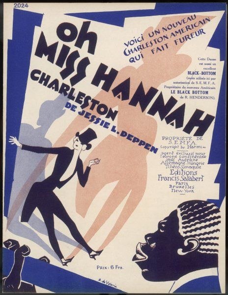 'Oh Miss Hannah...' (you can also dance the Black Bottom to this music...)