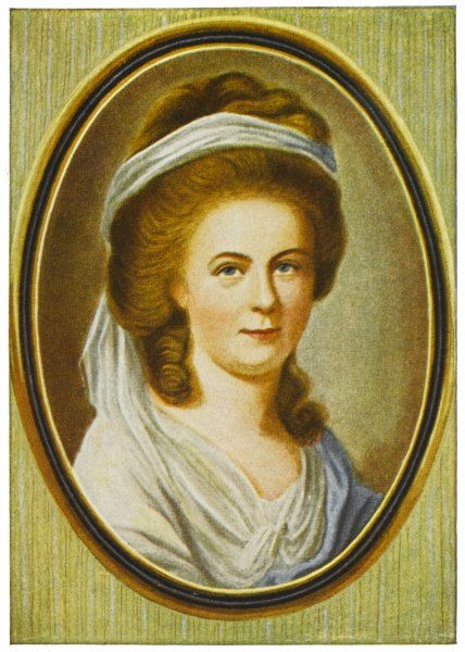 CHARLOTTE BUFF (KESTNER) Goethe fell in love with Charlotte in 1772, although she was engaged to a friend of his at the time