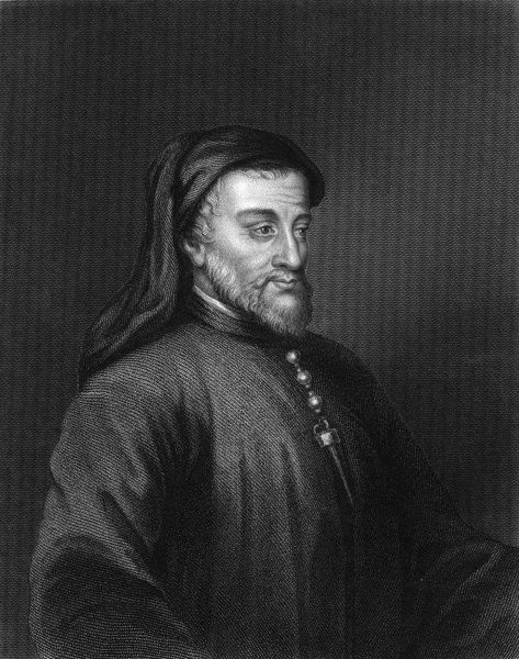 GEOFFREY CHAUCER English poet, writer of The Canterbury Tales Date: 1340 - 1400
